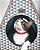 Toquinha Com Arranhador para Gatos -Geo Cinza - Imagem 2