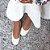 Sapatilha Balaia MOD436 em couro Tresse Off White - Imagem 2