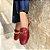 Slingback Balaia MOD502 em couro Croco Vermelho - Imagem 2