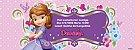 Convite personalizado para evento no facebook Princesa Sofia 002 - Imagem 1