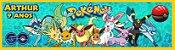 Adesivo personalizado para baldinho Pokémon GO - Imagem 1