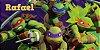 Adesivo para cofrinho personalizado Tartarugas Ninja - Imagem 1