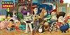 Adesivo para cofrinho personalizado Toy Story - Imagem 1