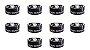 Black Fix Barber Shop Pomada Modeladora Preta 150g - 10 unidades - Imagem 1