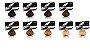 Acquaflora Coloração Permanente Cores Bases 1un de cada - Imagem 1