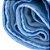 Cobertor Bebê Flanelado Azul Liso 90Cm X 70Cm Papi - Imagem 3