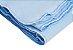 Cobertor Bebê Flanelado Azul Liso 90Cm X 70Cm Papi - Imagem 2