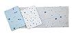 Cueiro Flanelado Com 3 Pçs Espaço 80cm X 50cm Papi - Imagem 5
