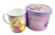 Caneca De Porcelana Na Lata Rapunzel 350ml - Imagem 1
