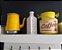 Leiteira Amarela Decorada Alumínio 1 Litro Decoupage - Imagem 4