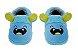 Pantufa Play Infantil Monstrinho Azul - Pimpolho - Imagem 1