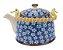 Bule Em Porcelana Para Chá Com Infusor Floral 750ml - Imagem 2