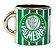 Mini Caneca Decorativa Ímã Metal 3.5cm Palmeiras - Imagem 1