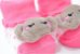 Meia Bebê Bichinho  Elefantinha Rosa Pimpolho - Imagem 2
