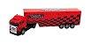 Caminhão Com Controle Remoto Truck Vermelho Unik - Imagem 1