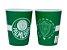 Jogo com 2 Copos De Plástico 3D Palmeiras 400ml - Imagem 1