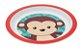 Pratinho Infantil Animal Fun Macaquinho - Buba - Imagem 2