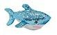 Pelúcia Tubarão Lantejoulas Azul 38cm  - Imagem 2