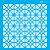 Stencil 14cm x 14cm Estamparia Vitral (OPA2335) - Imagem 1