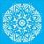 Stencil 30,5cm x 30,5cm Mandala II Camada II (OPA2298) - Imagem 1