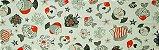 Tecido para Patchwork Peixes Grande (0,50m x 1,50m) - Imagem 1