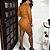 Vestido Bodycon Marrom - Imagem 5