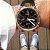 Relogio masculino esportivo CT Scuderia Saturno rosé e pulseira de couro Preto - Imagem 2