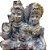Família Shiva em Gesso 15cm - Imagem 3