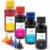 Kit 4 Tintas Inova Ink Compatível Impressora L375 100ml  - Imagem 1