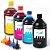 Kit 4 Tintas Para Epson EcoTank L3110 1 Litro Inova Ink - Imagem 1