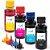 Kit 4 Tintas Compatível Inova Ink XP23 XP43 XP241 100ml  - Imagem 1