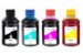 Kit 4 Tintas para Cartucho Brother LC103 CMYK 250ml Inova Ink - Imagem 1
