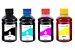 Kit 4 Tintas para Cartucho Brother LC107 | LC105 CMYK 250ml Inova Ink - Imagem 1