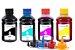 Kit 4 tintas para Epson L555 Bulk Ink CMYK 250ml Inova Ink - Imagem 1