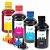 Kit 4 Tintas para HP Universal 250ml Inova Ink - Imagem 1