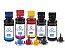 Kit 5 Tintas para Canon Maxx Tinta G3100 Black 200ml e Coloridas 100ml Cores - Imagem 1