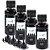 kit 4 Tintas Black Epson L120 L375 L455 L380 L395 L396 400ml Inova Ink - Imagem 1