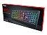Teclado Gamer Ziva Gaming Rainbow LED Keyboard Trust - Imagem 1