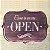Placa decorativa - Open - Imagem 1