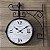 Relógio de parede dupla face - Paris  - Imagem 1