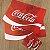 Jogo americano e porta copo Coca-Cola - Imagem 1