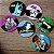 Porta copo - Heroes signs DC colorido - Imagem 1