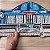 Capacho - Carro azul antigo - Imagem 2