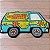 Capacho - Scooby Mystery Machine - Imagem 1