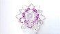 Flor de Lótus de Cristal - várias cores - 8 cm - Imagem 6