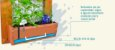Horta Vertical GRANDE! - 2 Vasos - Com tela - Imagem 2