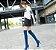 Bota Feminina Longa Jeans Destroyed - Imagem 4