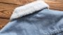 Jaqueta Jeans Masculina Azul Claro Badkidsboy Forrada - Imagem 5