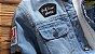 Jaqueta Jeans Masculina Azul Claro Badkidsboy Forrada - Imagem 3