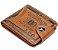 Carteira Masculina em Couro USA Dollar - Imagem 1